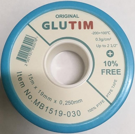 Фум лента 15m*19mm*0.25mm TIM MB1519-030